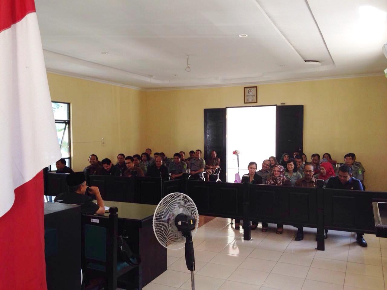 Kunjungan Ketua Pengadilan Tinggi Medan ke Pengadilan Negeri Kisaran