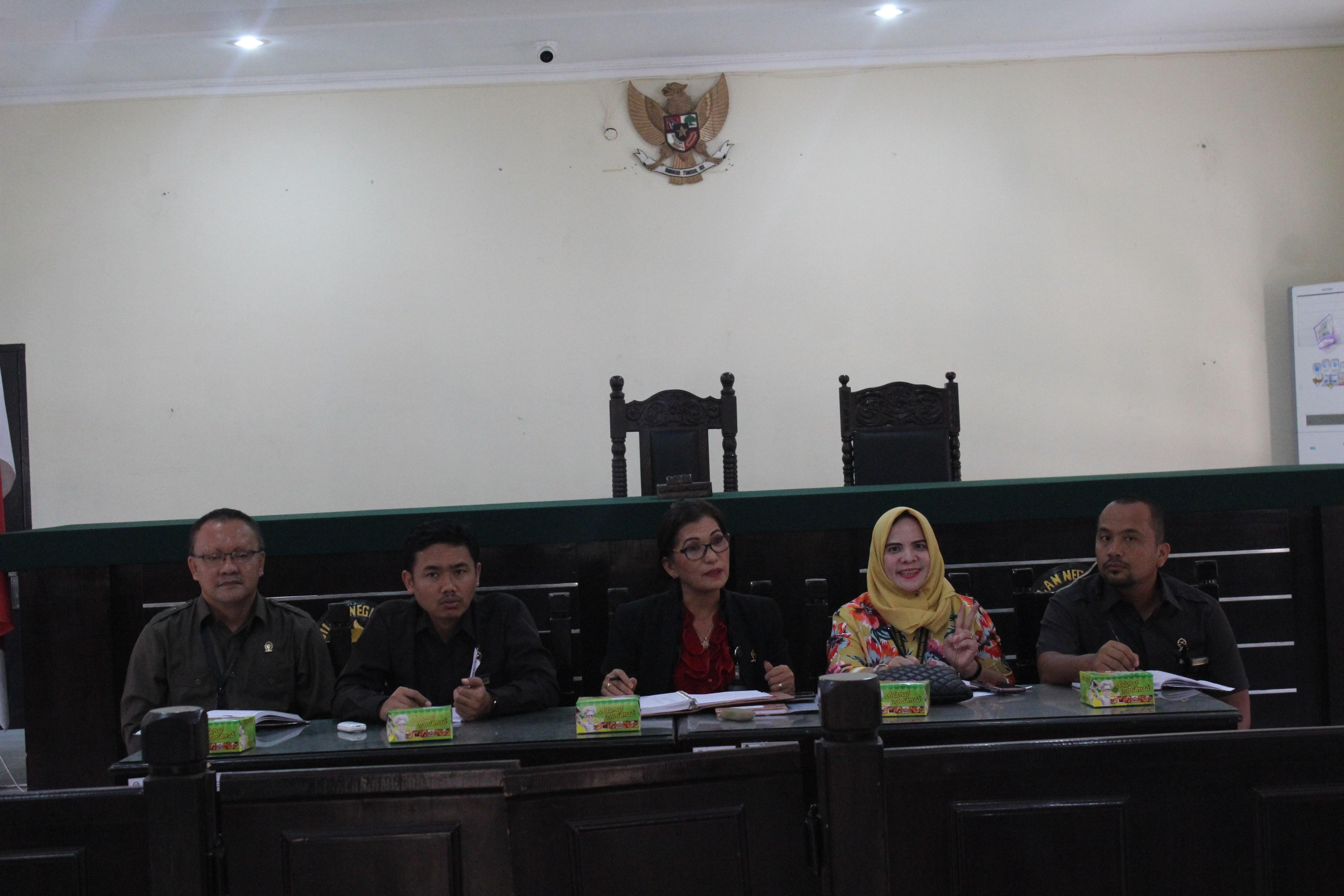 Rapat Bulanan Kepaniteraan Periode Agustus 2018