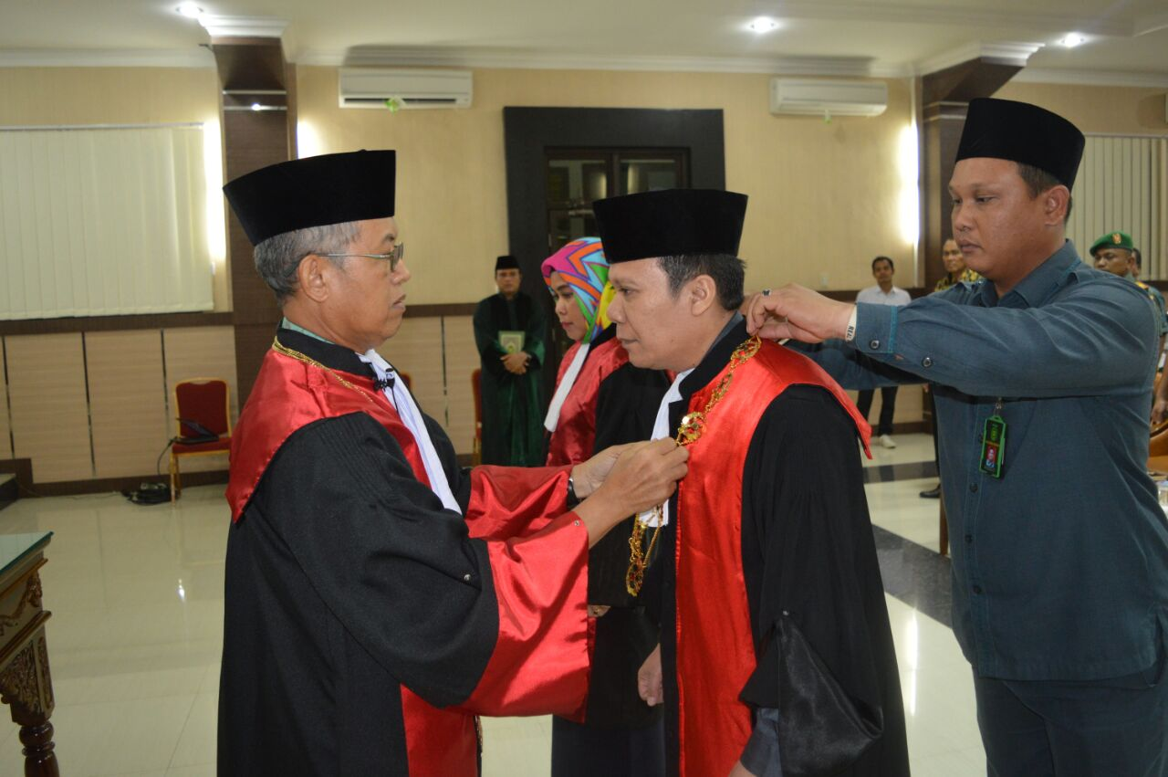 Pengambilan Sumpah, Pelantikan, dan Serah Terima Jabatan Ketua Pengadilan Negeri Kisaran