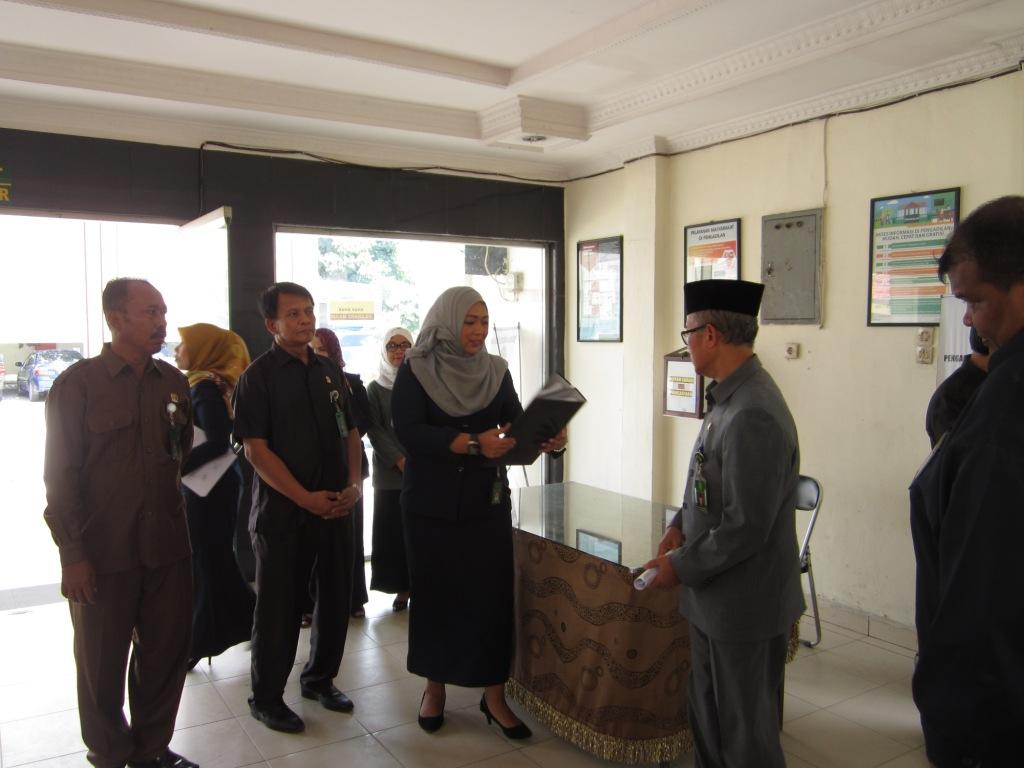 Ketua Pengadilan Tinggi Medan Melakukan Kunjungan Kerja Ke Pengadilan Negeri Kisaran