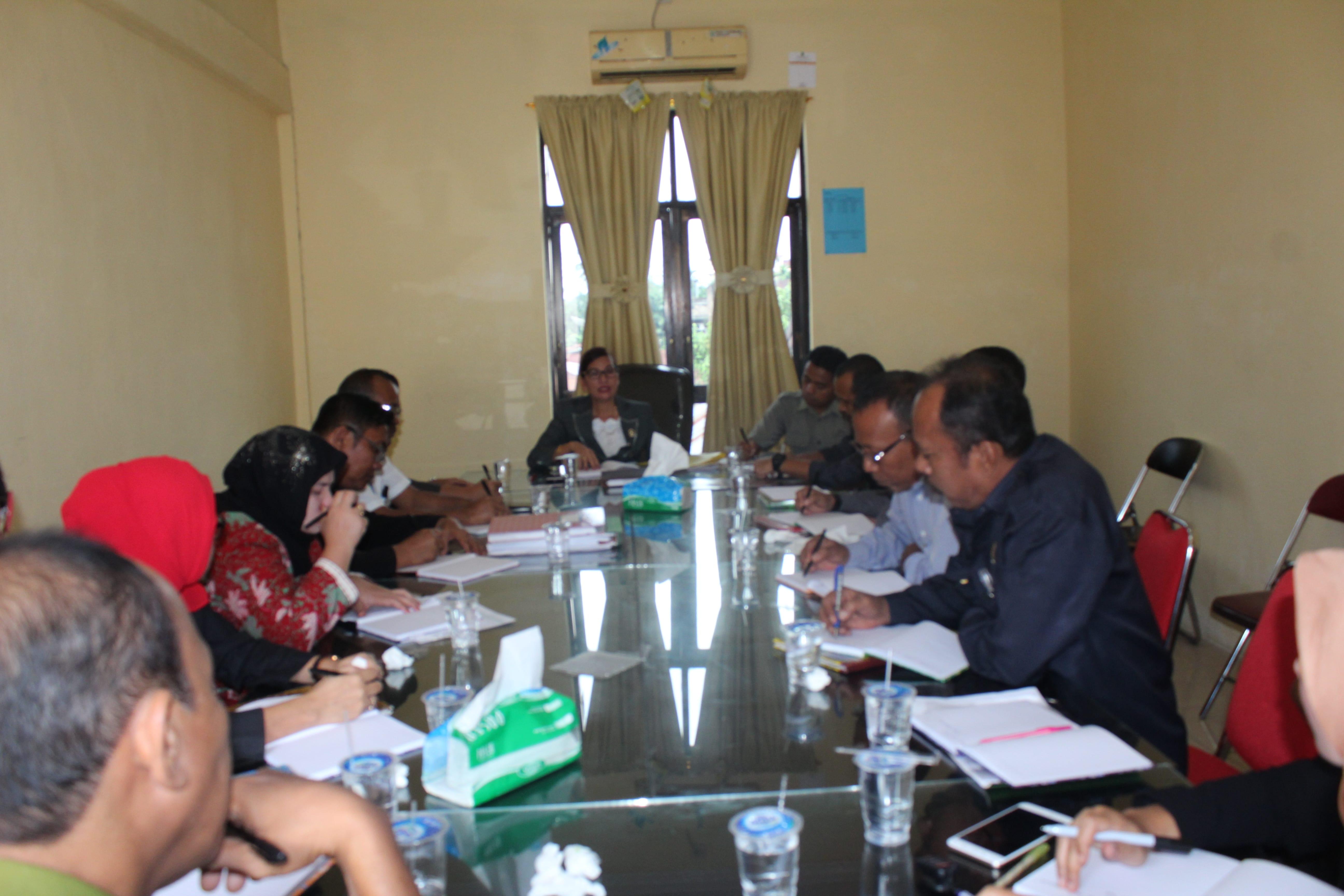 Rapat Bulanan Kepaniteraan Pengadilan Negeri Kisaran